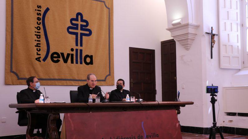 IGLESIA NOTICIA   Programa especial sobre el nombramiento de mons. Saiz Meneses como nuevo Arzobispo de Sevilla (18-04-21)