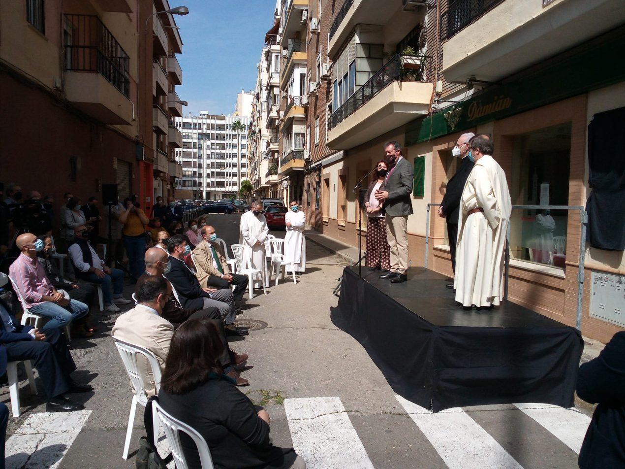 El Padre Isaac tiene ya su calle en Los Remedios