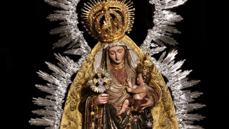 La Virgen del Amparo. Parroquia de Sta. Mª Magdalena (Sevilla)