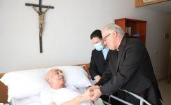 """Mons. Saiz: """"La tarea principal del obispo es cuidar a los sacerdotes, quererlos y ayudarlos"""""""