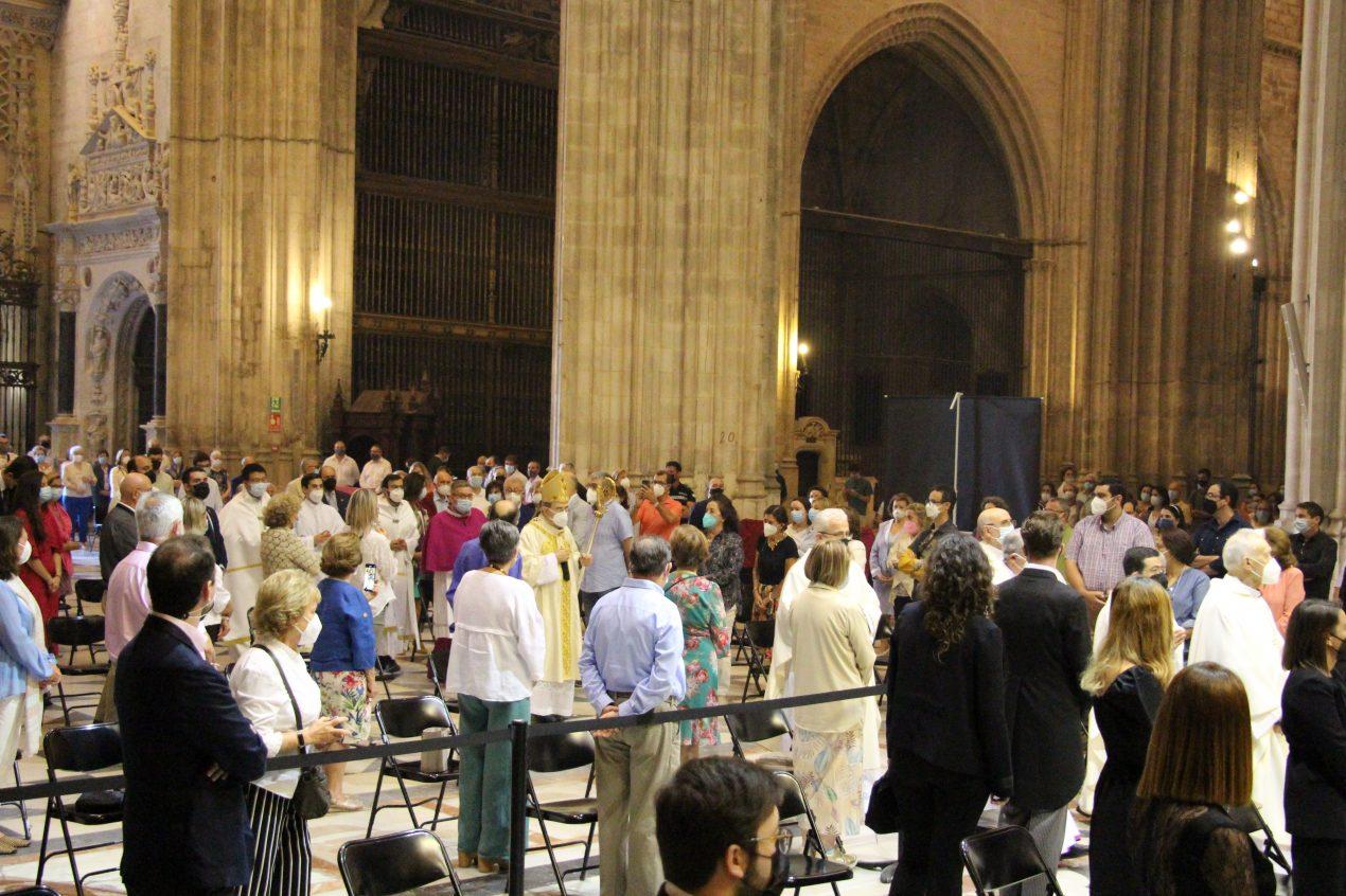Celebración del Corpus Christi en la Catedral de Sevilla 2021