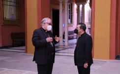 Mons. Saiz confirma en sus cargos a los responsables de la Curia diocesana