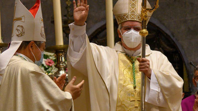 Toma de posesión de mons. Saiz como arzobispo de Sevilla