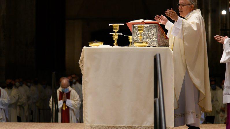 Mención del nuevo arzobispo en la plegaria eucarística