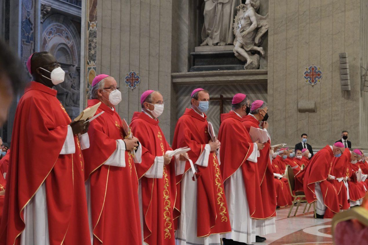 Bendición de los palios arzobispales en el Vaticano