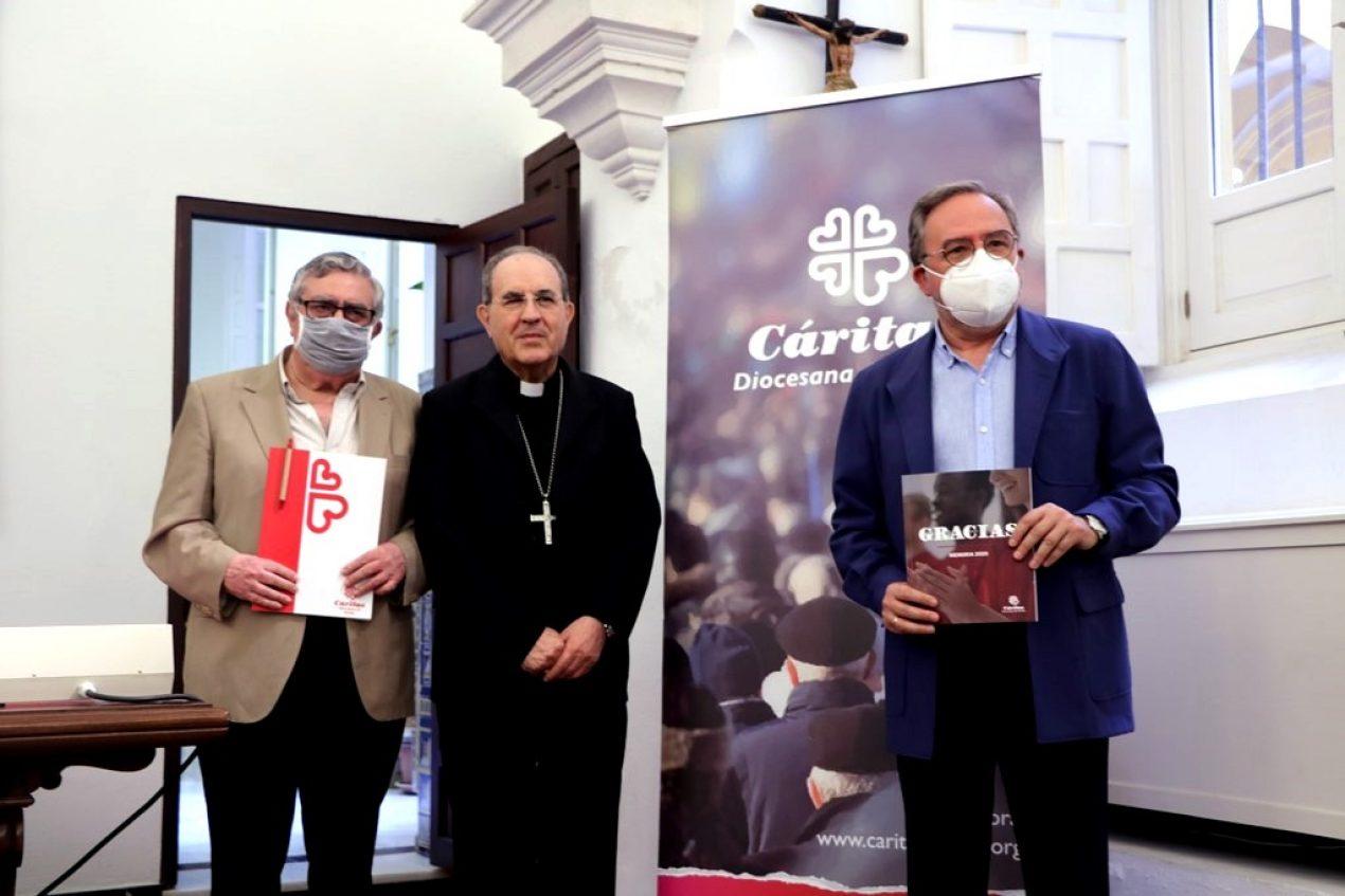 Cáritas Diocesana de Sevilla presenta su memoria de 2020
