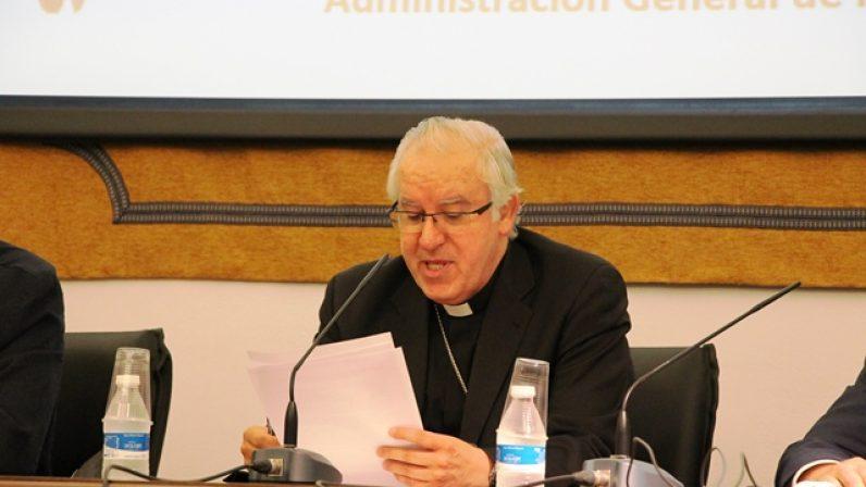 """Mons. Saiz: """"Es bueno respetar el funcionamiento de las instituciones que desde hace siglos van cuidando su patrimonio"""""""