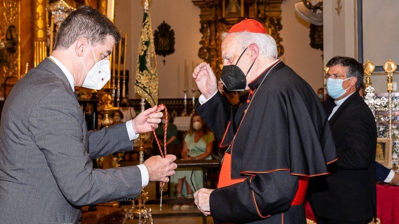 """Cardenal Amigo: """"Es una satisfacción muy grande haber contribuido a esta devoción rociera"""""""