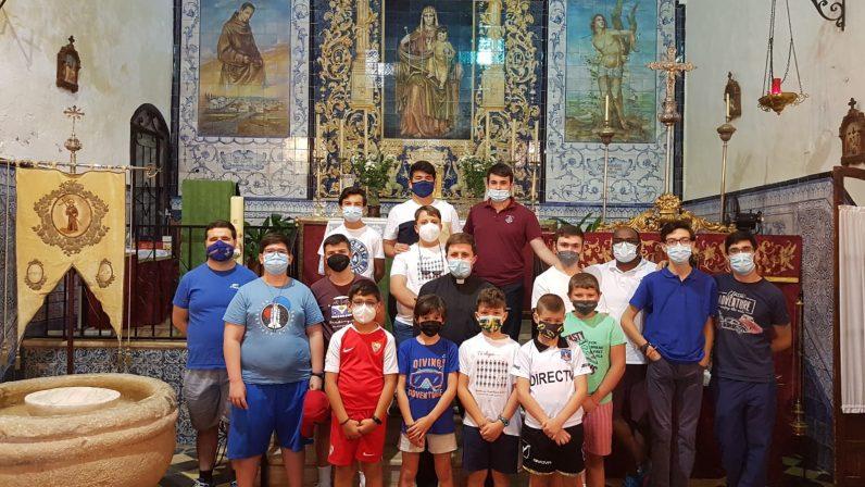 """Aprendiendo a ser """"campeones de Dios"""" en las colonias del Seminario Menor"""