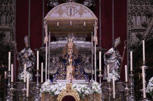 Cultos matinales en honor a Nuestra Señora de los Reyes