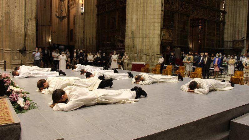 Homilía de Monseñor Saiz Meneses en la ordenación de un presbítero y ocho diáconos (18-09-2021)