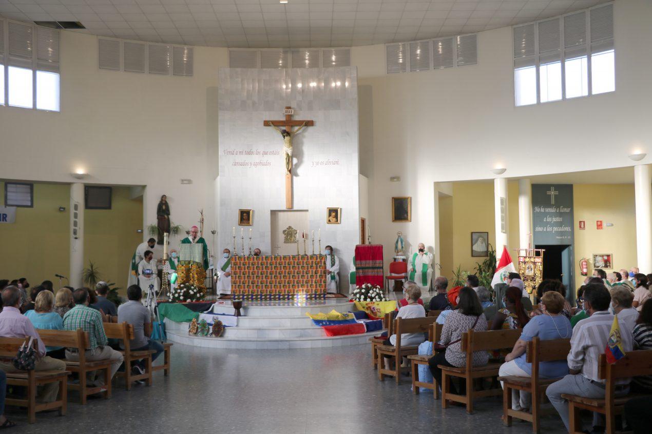 La Parroquia Nuestra Señora de Lourdes, de Sevilla, acogió la Jornada Mundial del Migrante y del Refugiado