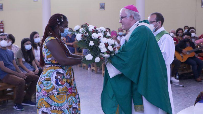 La Parroquia Nuestra Señora de Lourdes acogió la Jornada Mundial del Migrante y Refugiado