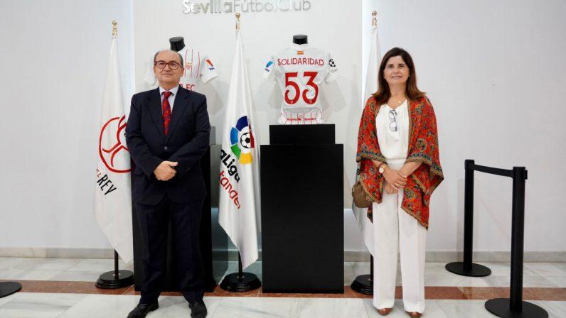 Manos Unidas se estrena hoy en la Champions League de la mano del Sevilla FC