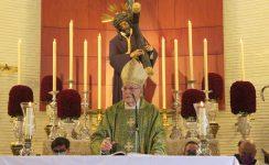 """El Cardenal Amigo Vallejo en la Parroquia de la Candelaria: """"Señor, que vea, Señor del Gran Poder, que te vea a ti""""!"""