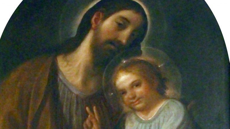San José con el Niño. Palacio Arzobispal de Sevilla