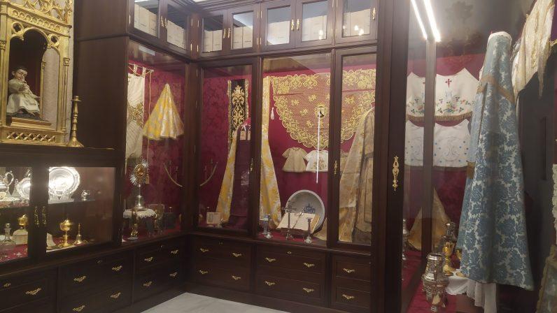 La Parroquia de Santa María de la Oliva, de Salteras, estrena museo