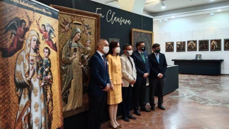La Hermandad de la Antigua expone una selección del patrimonio de los conventos de clausura en su 75º aniversario